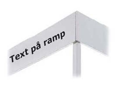 Picture of Text på ramp
